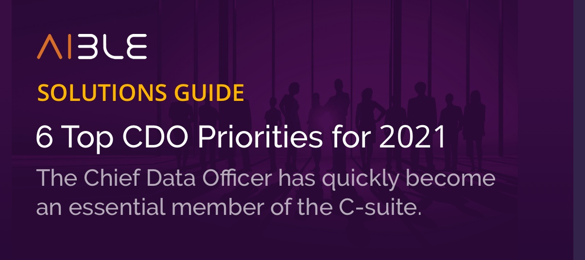 Banner for the 6 Top CDO Priorities for 2021